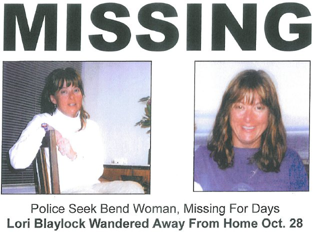 Lori Baylock missing poster