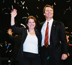 Elizabeth and John Edwards