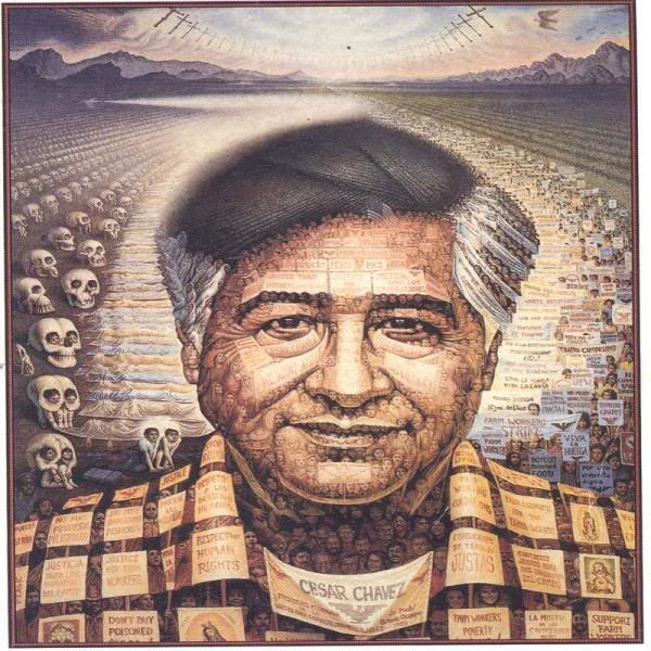 Cesar Chavez and Helen