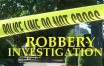 robbery investigation