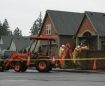 Gas leak in Canby, Oregon 3-3-08