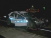 Crash in Roseburg involving a police car 16 Feb 2010
