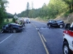 Photo of crash scene: Oregon State Police