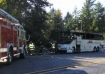 Bus fire, Tillamook, Oregon 9-12-10