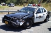 Klamath Falls police car crash 7-19-09