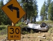 Crash near Klamath Falls, Oregon 6-22-09