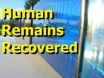 Human Remains Recovered