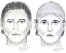 Composite sketch of a suspect who robbed and beat a woman in Tigard, Oregon 6-22-09