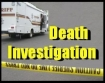 Death investigation logo