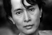 Aung San Suu Kyi of Burma, which is now called Myanmar.