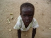 Starving child in Africa
