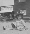 Charles King in Venice, Calif. at the age of two.