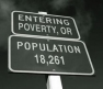 Poverty, Oregon