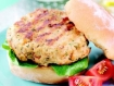 Foster Farms, Ready to Cook, Boneless Mediterranean Style White Turkey Burgers