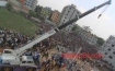 A fire broke out in the debris of the collapsed multi-storied Rana Plaza at Savaramid