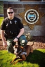 Marion County Sheriff's Deputy Jason Bernards and his K9 partner Rolo