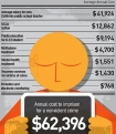 cost of incarcerating nonviolent crimes