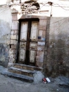 One of the three remaining Synagogues in Damascus' Jewish Quarter. No longer in use.