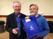 Randy Fletcher with Steven Dambeck, the President of Apollo Olive Oil, a <i>Fellowship of Friends</i> owned company