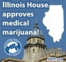 Illinois House Passes Medical Cannabis Bill HB1 61-57