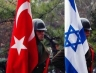 Israel and Turkey flags