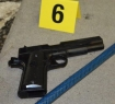 Recovered Replica Handgun
