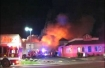 Commercial fire in Salem, Oregon 12-31-12