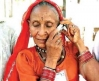 Senior on cell phone