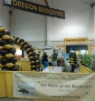 Oregon state beekeepers booth