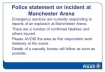 incident at Manchester Arena