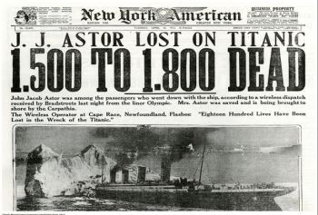 Titanic & John Jacob Astor: