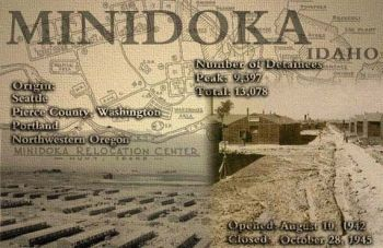 Minidoka was an internment camp