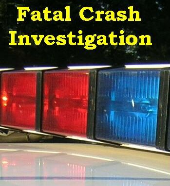 fatal crash investigation graphic
