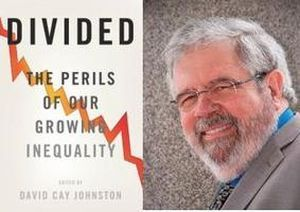 Pulitzer Prize-winning journalist and author David Cay Johnston.