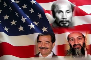 Ho Chi Minh, Saddam Hussein and Osama bin Laden for America