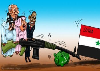 West against Syria
