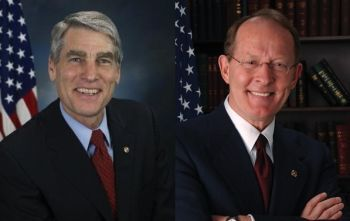 Senators Mark Udall (D-Colo.) and Lamar Alexander (R-Tenn.)