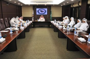 Prince Turki Bin Mohammed Bin Fahd Chairing the Meeting