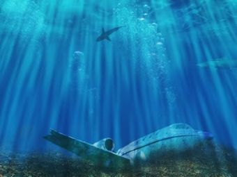 Bottom of the Bermuda Triangle