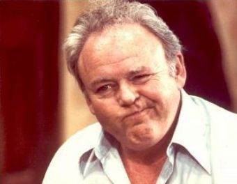 Carol O'Connor as Archie Bunker; an American phenomena.