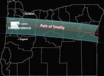 eclipse path of totality