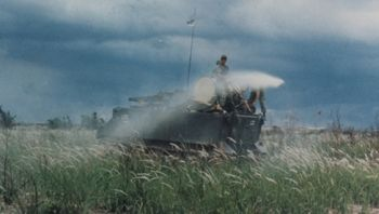 spraying agent orange