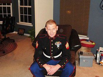 Decorated Marine Combat Vet Brandon Raub
