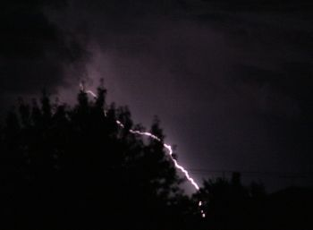 Salem lightning strike