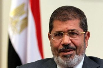 Mohamed Morsi, the newly elected Islamist president of Egyp