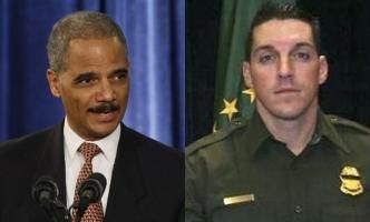 Eric Holder and Brian Terry