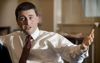 Douglas Alexander MP, Labour's Shadow Foreign Secretary
