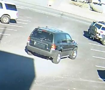 Suspect vehicle in amber alert