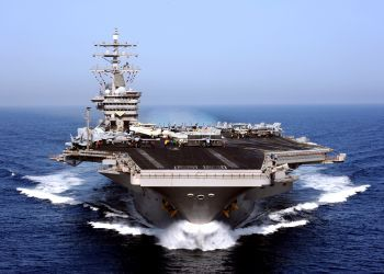The USS Dwight D. Eisenhower