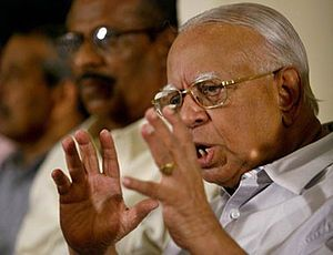R. Sampanthan leads the, Tamil National Alliance